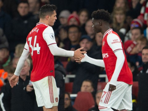 Granit Xhaka must apologise to fans immediately to save Arsenal career, says Alan Shearer