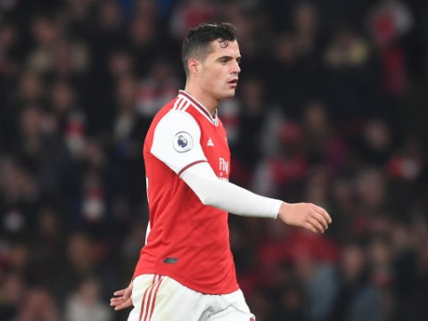 Paul Merson defends Granit Xhaka following outburst against Arsenal supporters