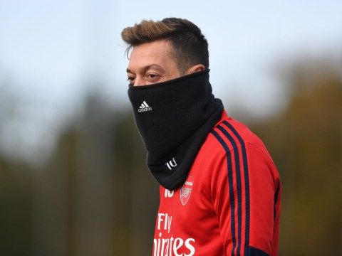 Mesut Ozil sends message to Arsenal fans amid Granit Xhaka controversy