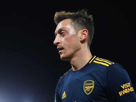 Mesut Ozil reacts to painful Liverpool defeat and sends message to Arsenal fans
