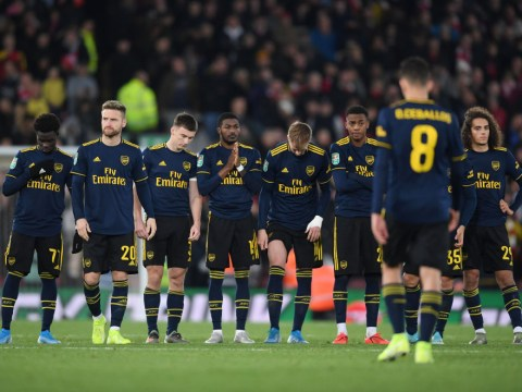 Dani Ceballos apologises to Arsenal fans after missing penalty during Liverpool defeat