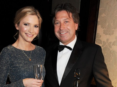 How long have John Torode and Lisa Faulkner been together as couple host star-studded wedding?