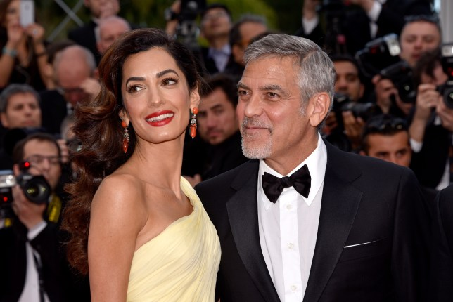 George Clooney's 'powerful' two-year-old daughter runs the Clooney house already