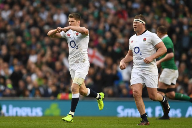 Owen Farrell celebration explained: What the England fly-half's 'Jack salute' means