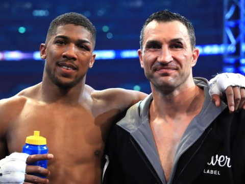 Wladimir Klitschko supporting Anthony Joshua to win Andy Ruiz rematch