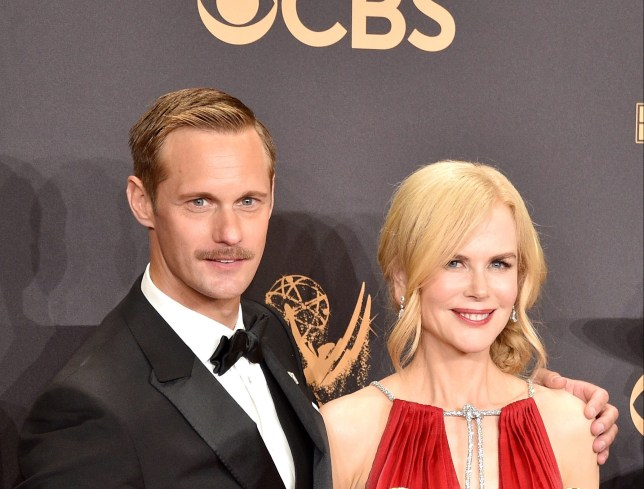 Alexander Skarsgard and Nicole Kidman