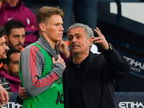 Scott McTominay reveals he still talks to Jose Mourinho after Manchester United matches