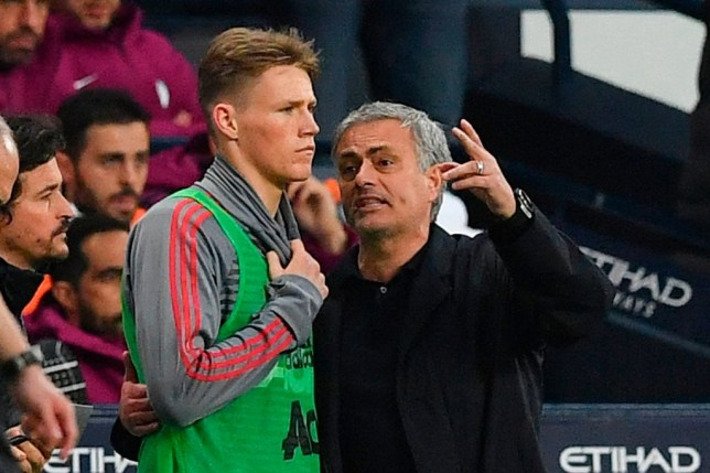 Scott McTominay is still in touch with former Manchester United boss Jose Mourinho