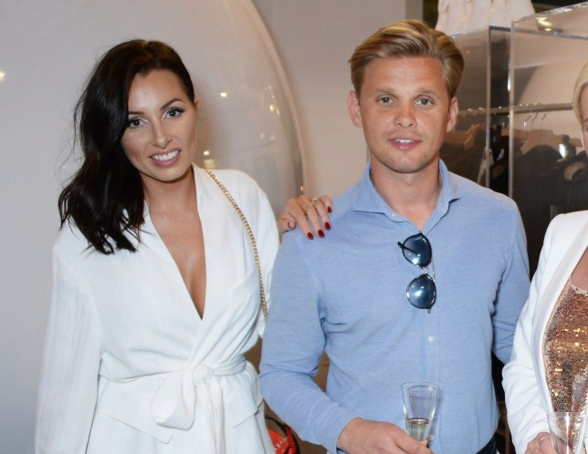 Jeff Brazier and his wife Kate