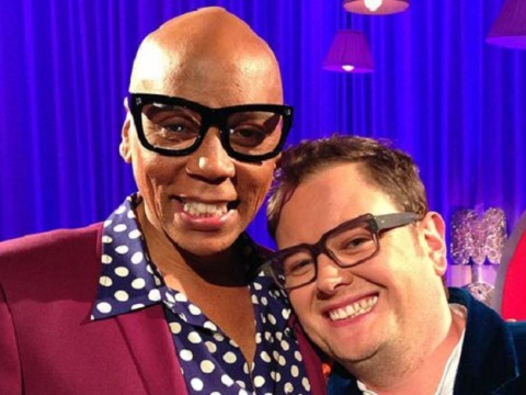 Geri Horner was 'clutching her pearls' over RuPaul's Drag Race UK, says Alan Carr