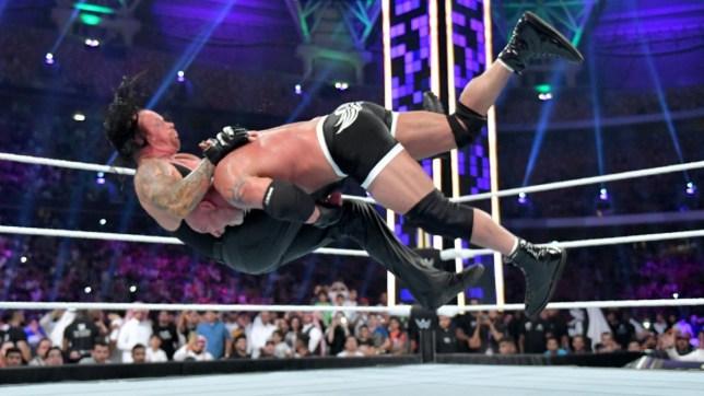 Goldberg Undertaker (Picture: WWE)
