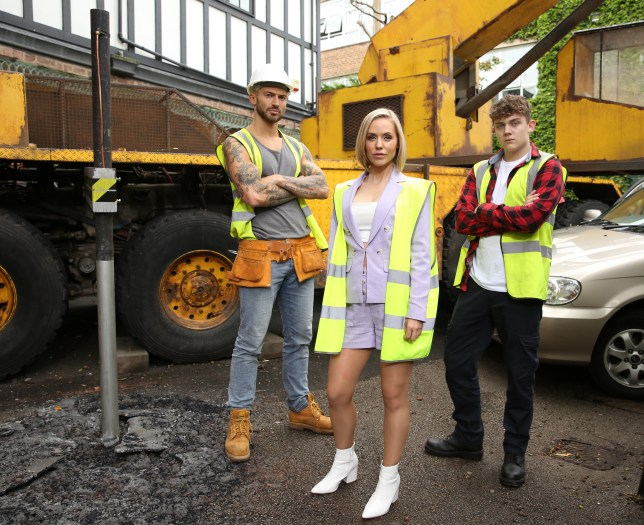 Hollyoaks Cindy Woody and Tom