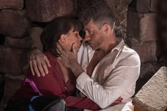 Nancy and Darren Osbourne in Hollyoaks