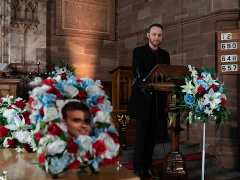 Hollyoaks spoilers: James Nightingale plots revenge as Harry Thompson is laid to rest