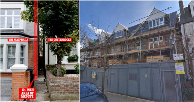 Millionaires' fight could see new house being demolished and moved 1ft to the left