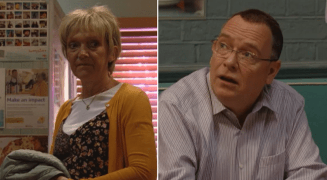 Jean slams Ian in EastEnders