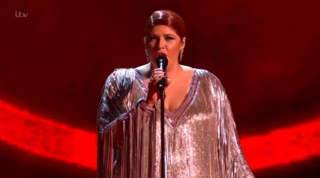 X Factor Celebrity Jenny Ryan