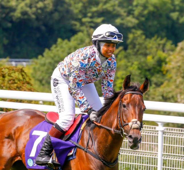 18-year-old becomes first female Muslim jockey to win major race: 'I love proving people wrong'