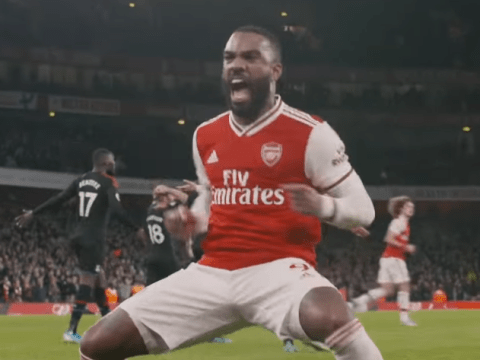 Alexandre Lacazette's incredible reaction to Arsenal's disallowed goal against Crystal Palace