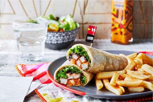 The new messy Nando's wrap