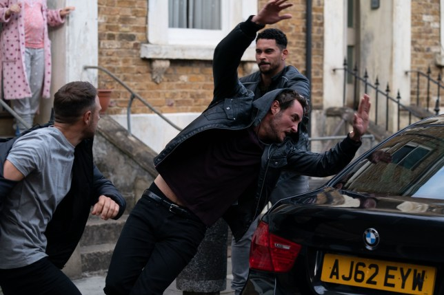 Martin and Tubbs find themselves in a fight in EastEnders