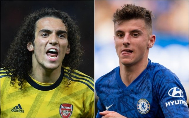 Matteo Guendouzi and Mason Mount are in contention to win the Golden Boy award