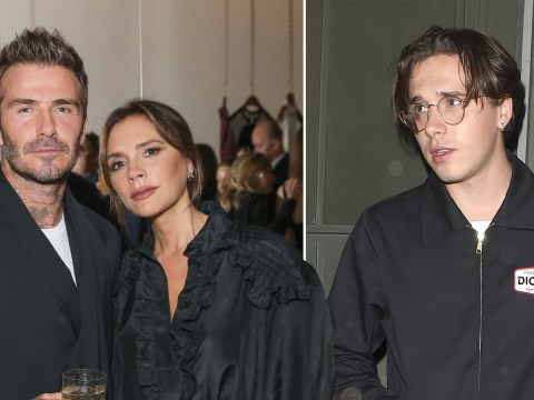 David and Victoria Beckham put on loved up display as they celebrate Andy Warhol at bougie bash
