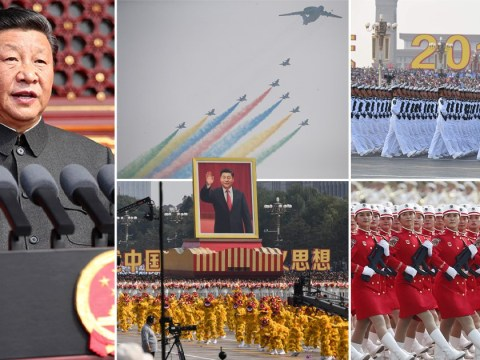 China's new hypersonic ballistic nuclear missile unveiled at 70th Red Army anniversary