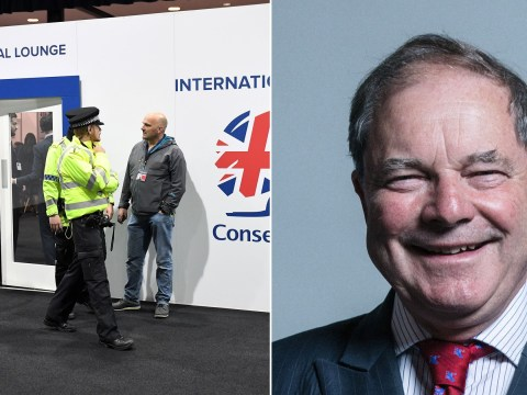 Lockdown at Tory Party Conference after punch-up