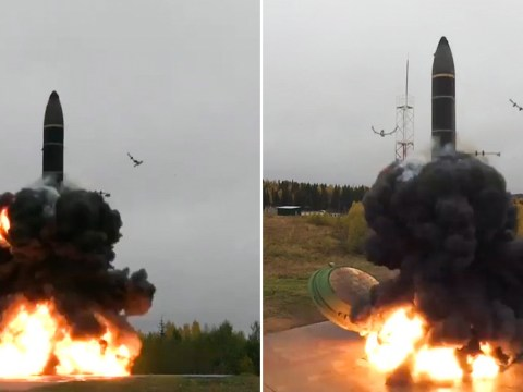 Russia tests super-destructive nuclear missile in intimidating show of strength