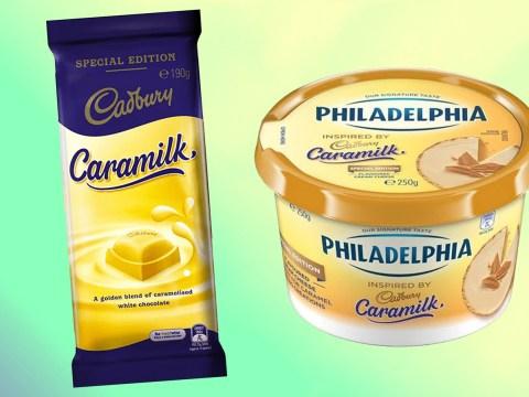 Cadbury releases Caramilk Philadelphia cream cheese