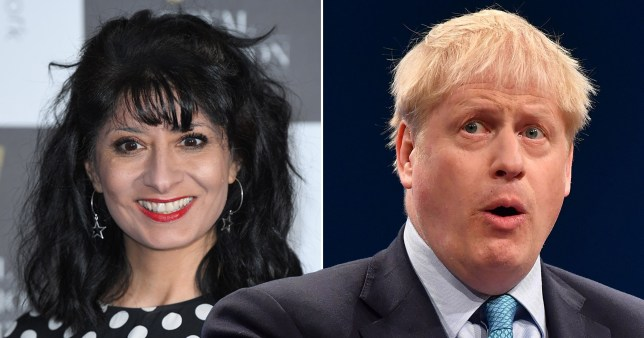 Shappi Khorsandi claims Boris squeezed her hand under table before Question Time debate