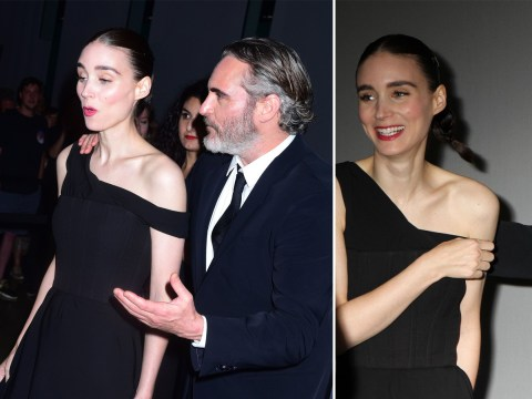 Joaquin Phoenix brushes off Joker controversy as he looks loved-up with Rooney Mara