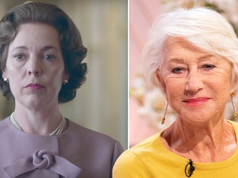 Helen Mirren refuses to replace Olivia Colman on The Crown: 'I don't think so'