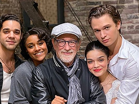 Steven Spielberg pens emotional letter after wrapping up filming for West Side Story and we're excited