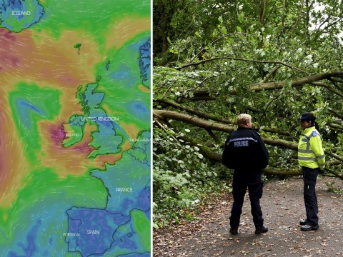Britain to be lashed by tail of ex-Hurricane Lorenzo with 65mph winds