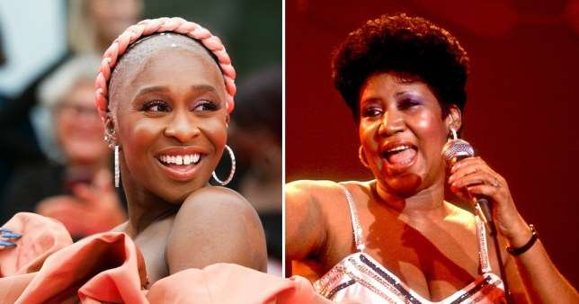 Cynthia Erivo will soon portray the late, great Aretha Franklin (Picture: AP; Getty)