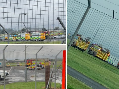 Glasgow Airport partially evacuated amid 'concerns over cargo'