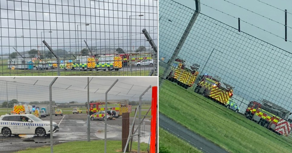 Glasgow Airport partially evacuated as police and fire crews tackle 'ongoing incident'