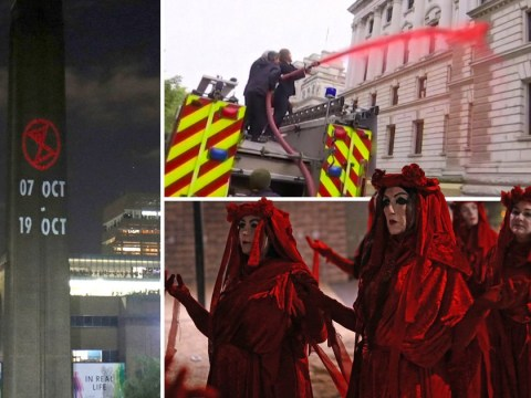 Police arrest Extinction Rebellion activists before two weeks of protests
