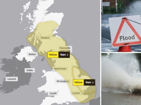 'Danger to life' flooding possible as UK lashed with heavy rain