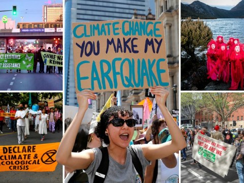 Worldwide Extinction Rebellion protests shut down cities from Madrid to Sydney
