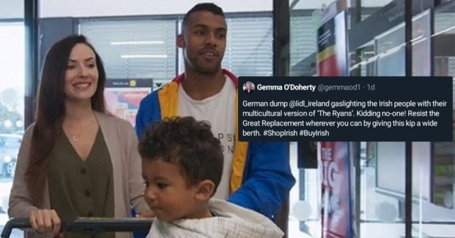 Toddler, 1, receives death threats from racists over Lidl advert