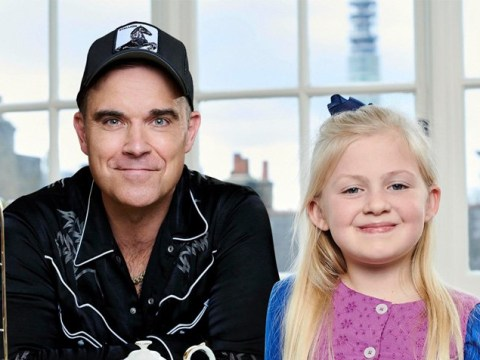 Robbie Williams records theme song for Channel 4's Christmas Special of The Tiger Who Came To Tea