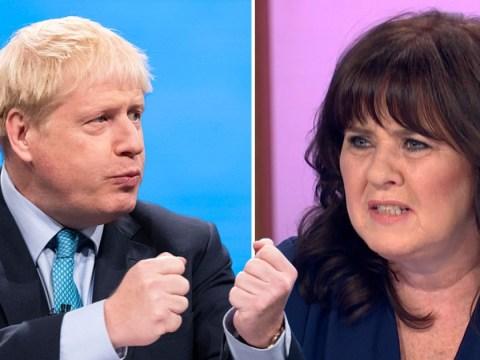 Coleen Nolan returns to Loose Women with Boris Johnson sex joke during Jennifer Arcruri debate