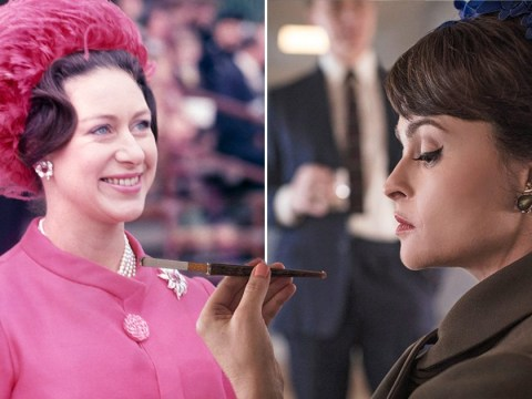 Helena Bonham Carter reveals Princess Margaret's ghost taught her how to smoke for The Crown season 3