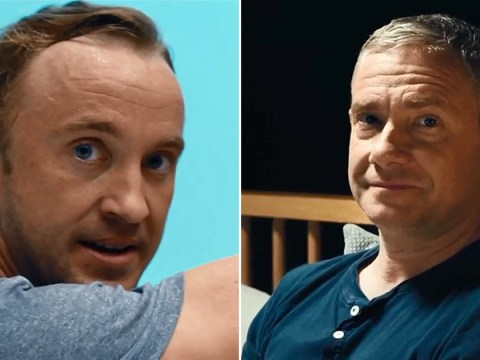 Harry Potter star Tom Felton joins Martin Freeman in moving Stand Up To Cancer battle