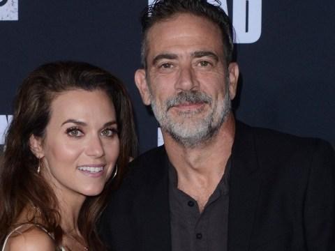 The Walking Dead star Jeffrey Dean Morgan marries Hilarie Burton in secret wedding