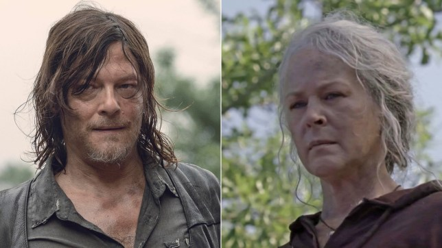 Daryl and Carol The Walking Dead