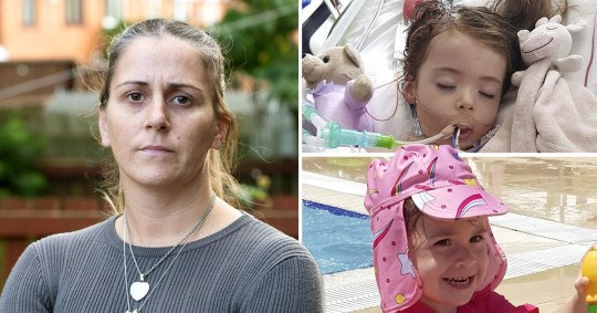 Allie Birchall from Atherton, in Manchester, was admitted to hospital with stomach cramps, bloody diarrhoea, lethargy and a loss of appetite shortly after returning from a 10-day break